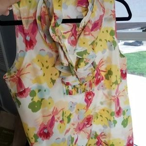 J Crew silk blouse, size 12